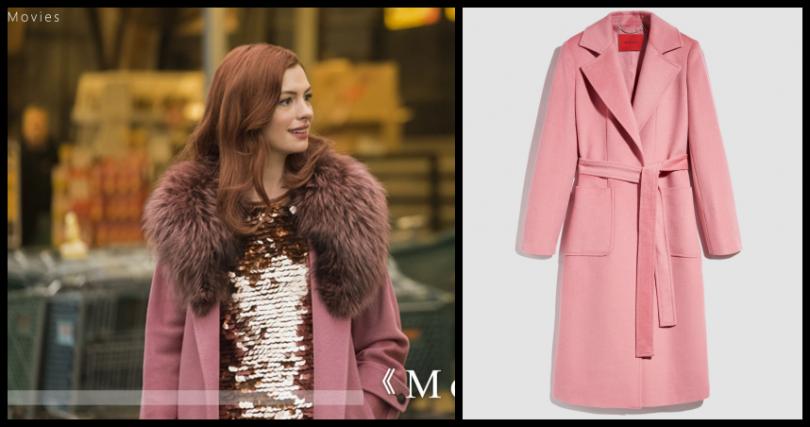 編輯推薦:MAX&CO粉紅色長版大衣/28800元(圖/品牌提供)