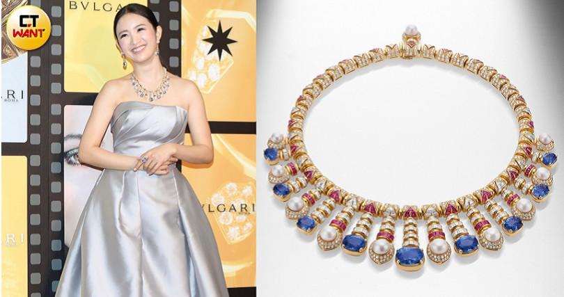 用色大膽、設計鮮明的珠寶配飾,向來都是寶格麗的標誌。(圖/焦正德攝、品牌提供)