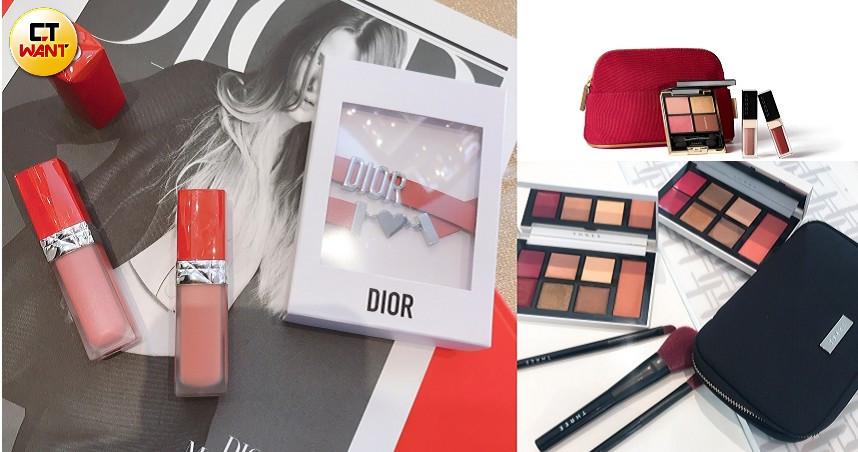 最後一檔百貨公司周年慶,把楓葉色妝容組買起來最實用。 (圖/黃筱婷攝、品牌提供)