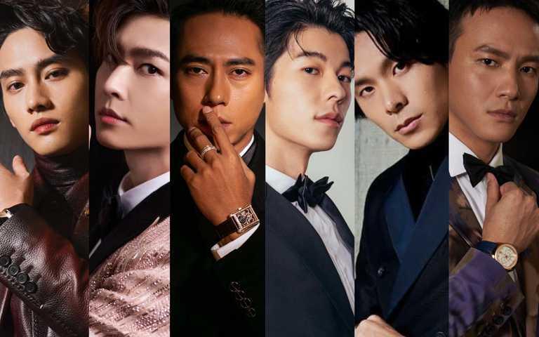2020年第55屆金鐘獎頒獎典禮,男星們巧妙運用珠寶和腕錶,為各式風格正裝增添亮點細節。(圖╱各品牌提供)