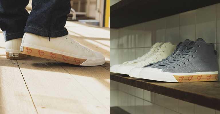 NIZZA HI鞋款共推出兩,售價NT3,690。(圖/adidsas Originals)