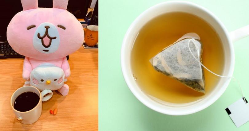 無糖綠茶還有貴妃荔枝紅茶都是營養師夏子雯的最愛。(圖/翻攝夏子雯-貼近你生活的營養師粉絲團、翻攝網路)