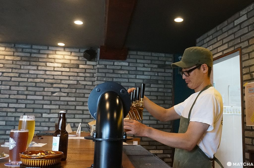 UKISIMA BREWIMG_店主裝酒