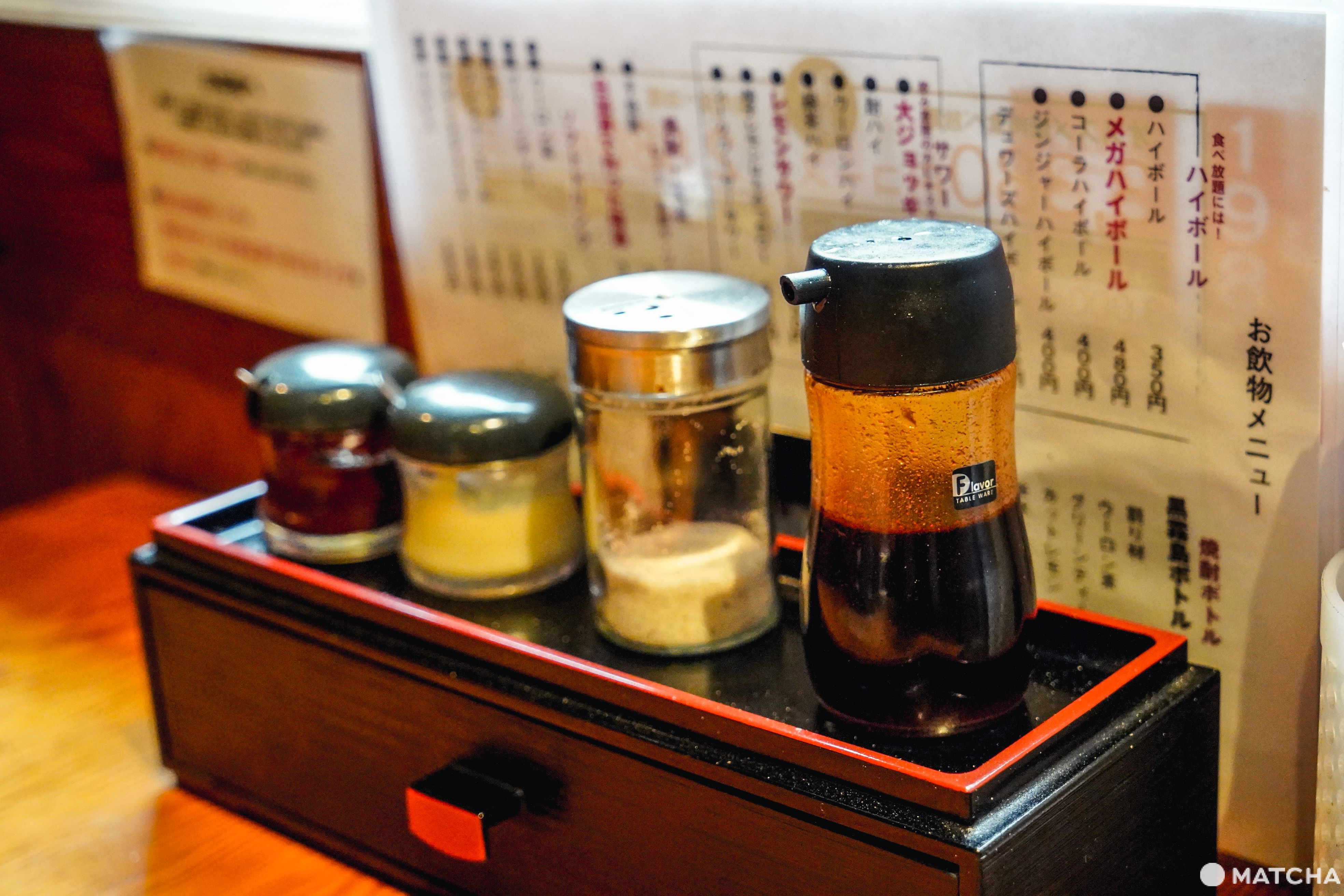 東京美食燒肉吃到飽_豪德寺ひゃくてん_吃到飽午餐方案_沾醬