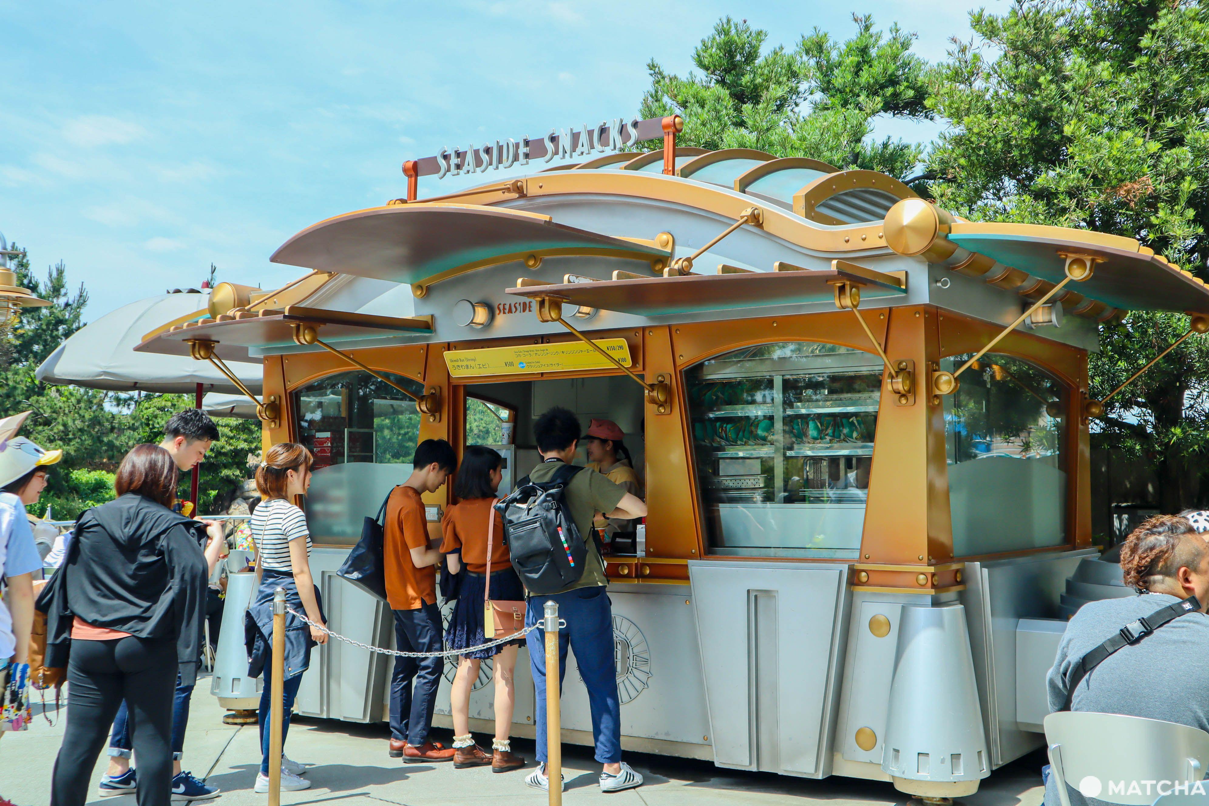東京迪士尼園內美食