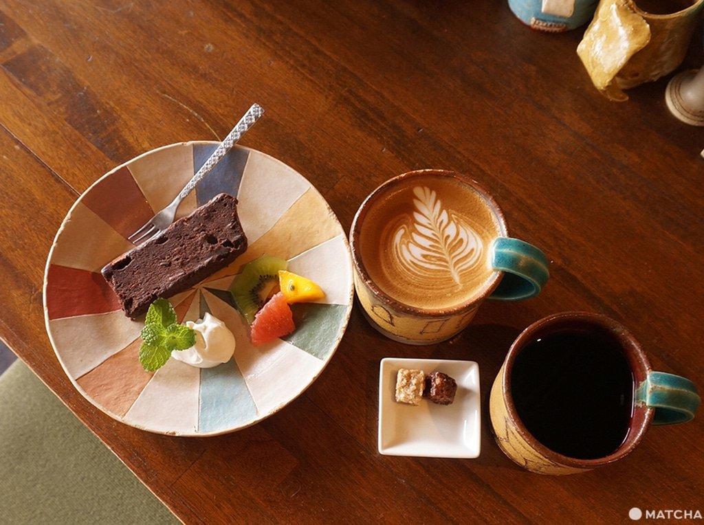 タルトとコーヒー