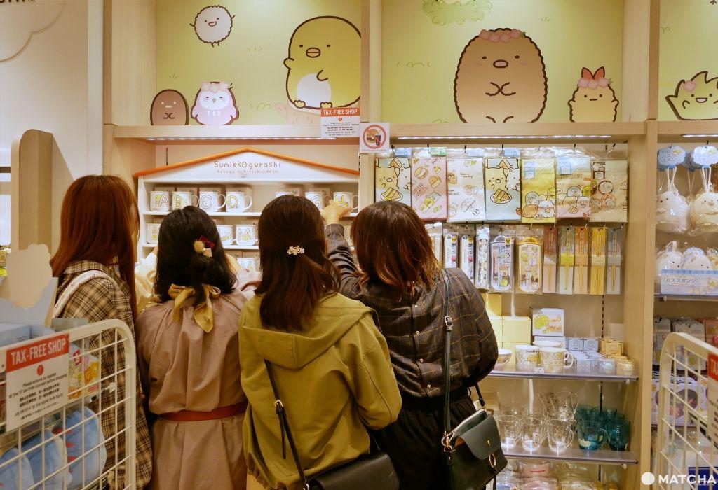 角落小夥伴東京店女孩們