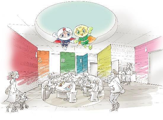 橫濱麵包超人博物館2