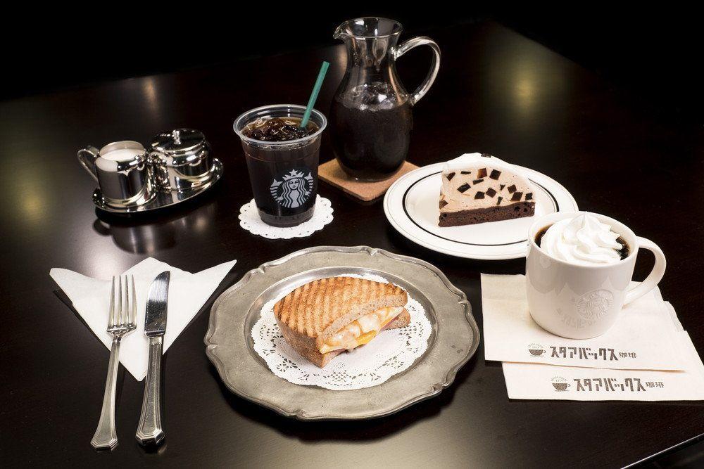日本STARBUCKS喫茶店