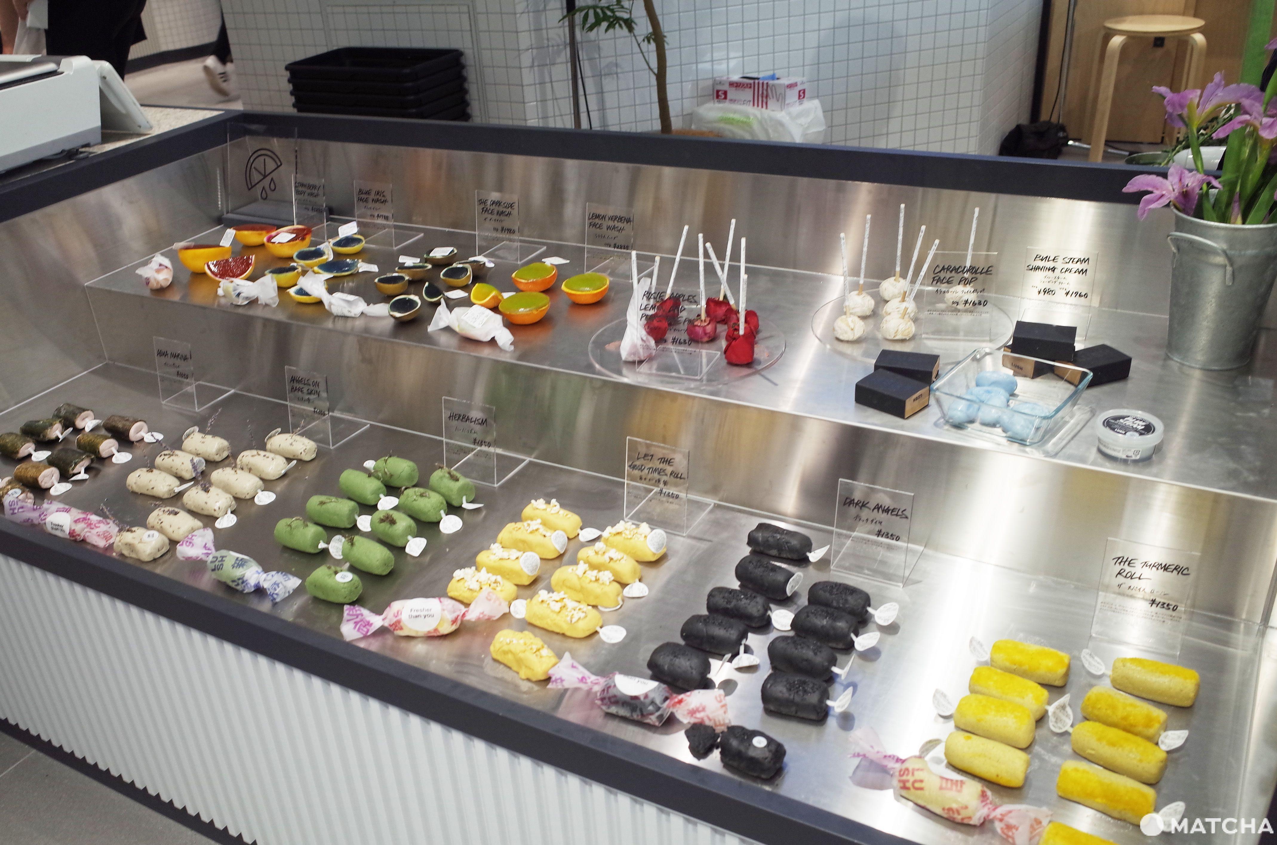 LUSH 新宿旗艦店