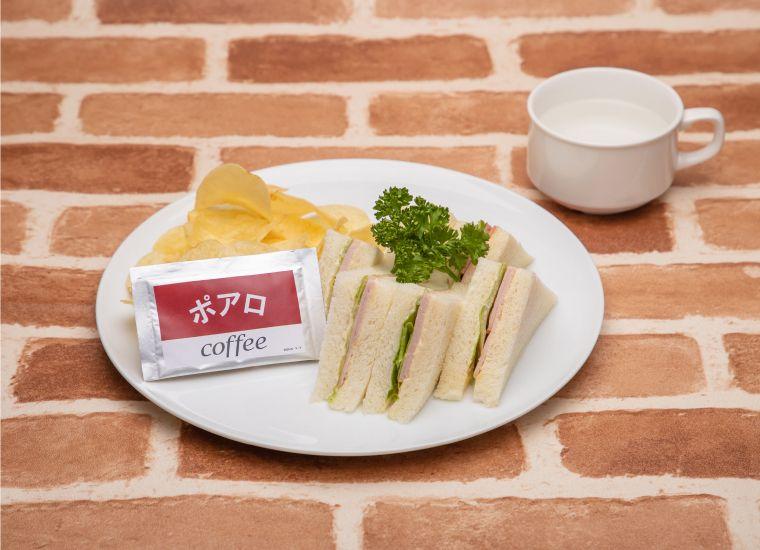 喫茶POARO的火腿三明治