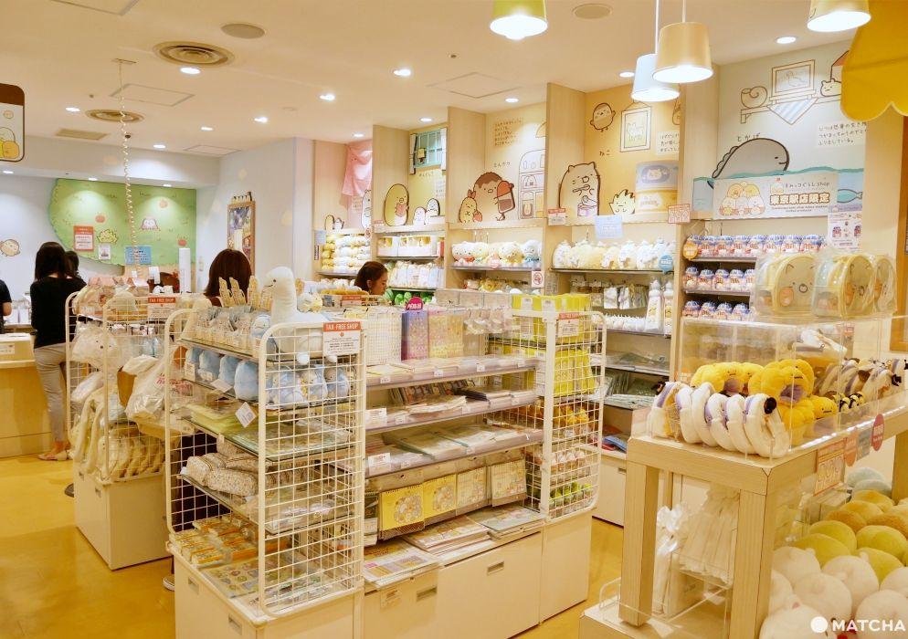 全亞洲唯一專賣店!角落小夥伴東京車站店