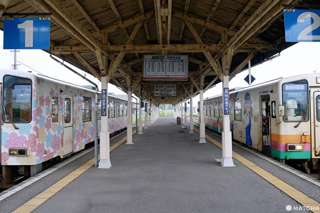 長井線今泉站