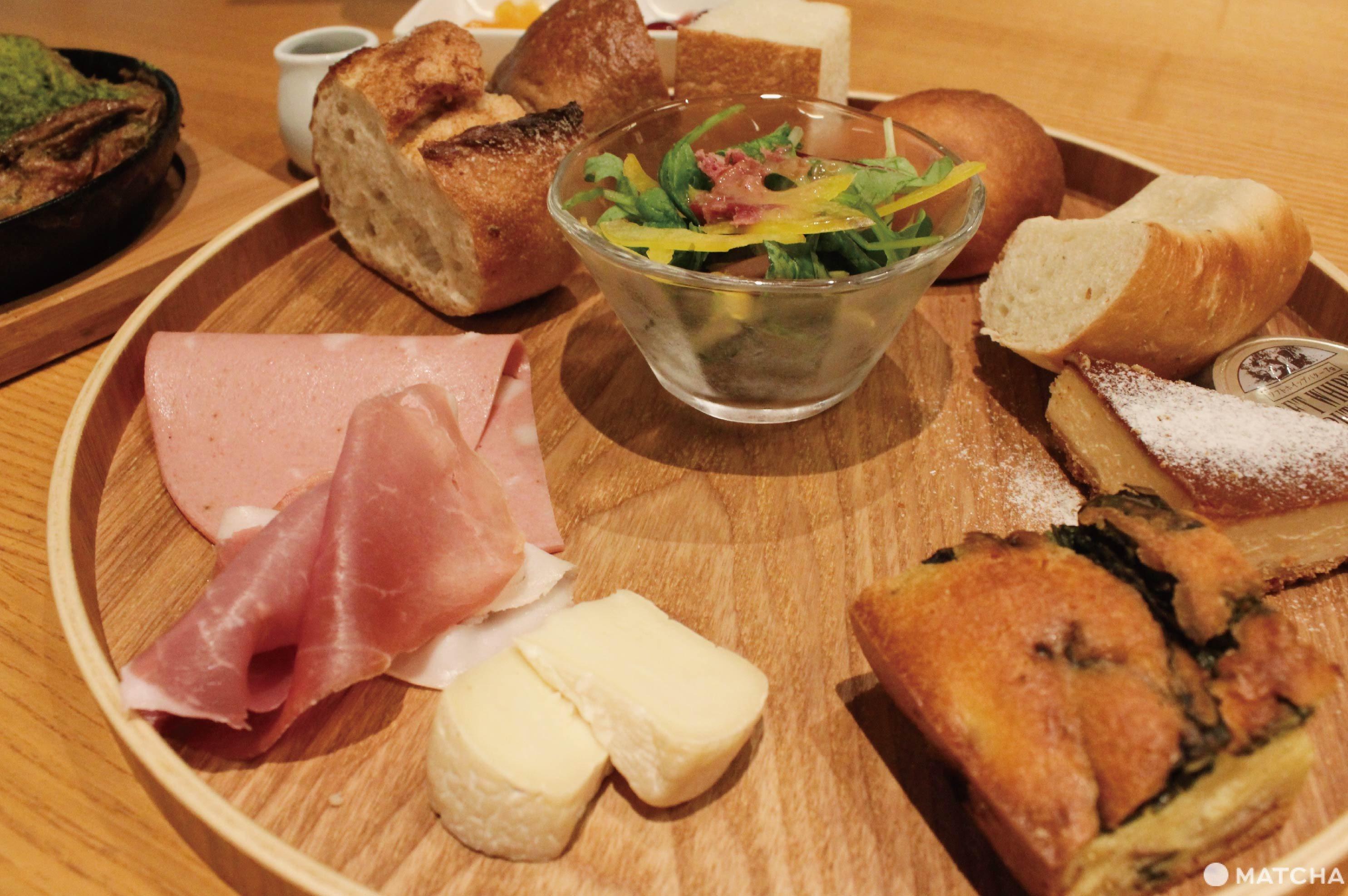 bread and espresso竹麵包盤
