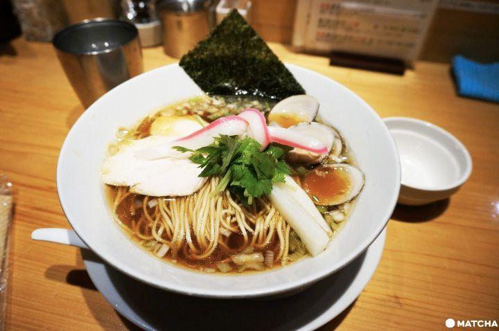 米其林平價拉麵店—Ginza Noodlesむぎとオリーブ