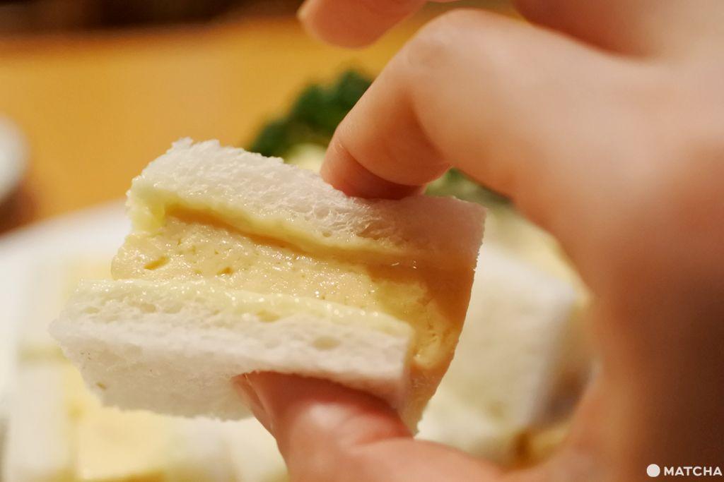 玉子燒 三明治