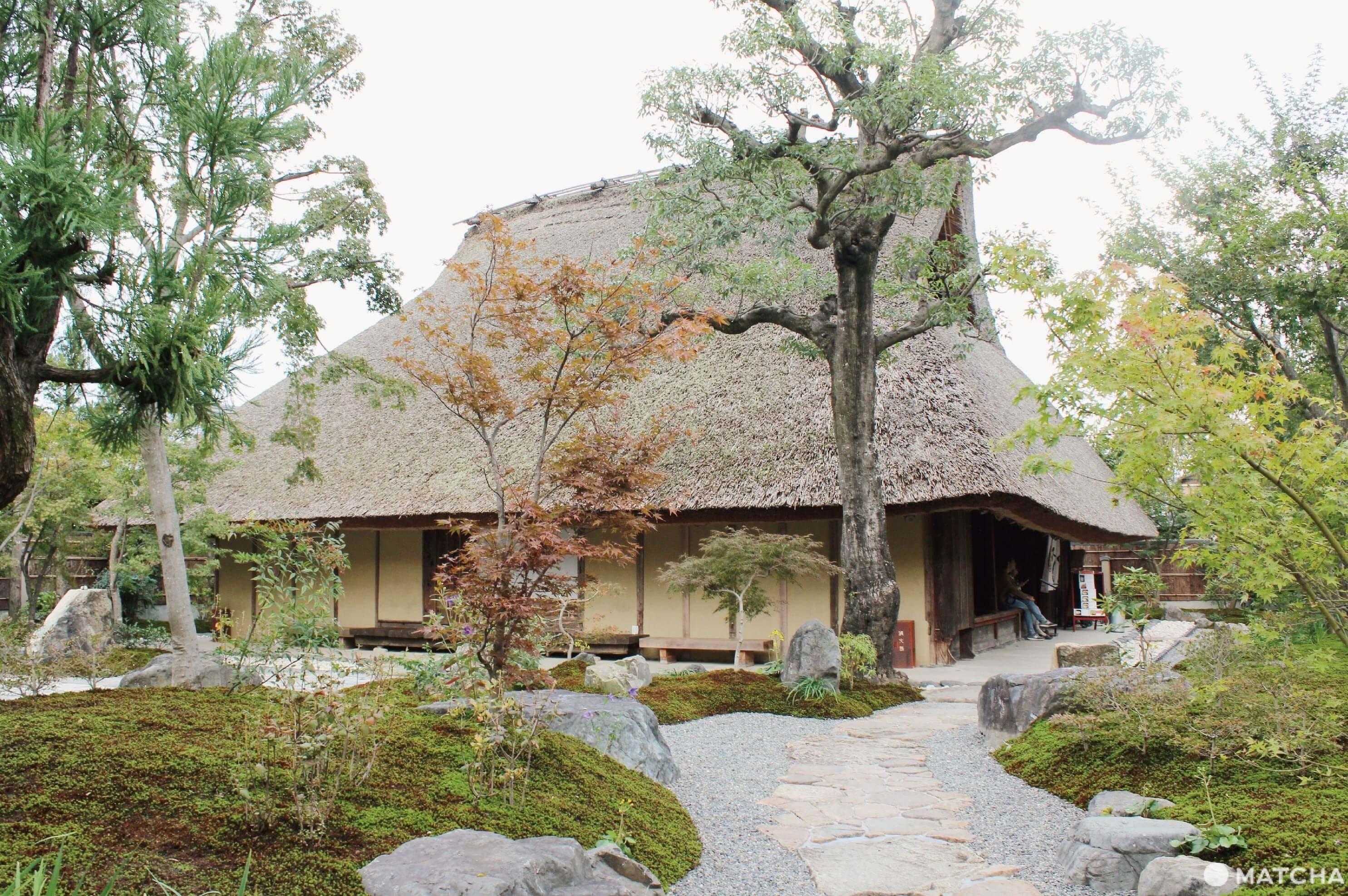 bread and espresso嵐山庭園
