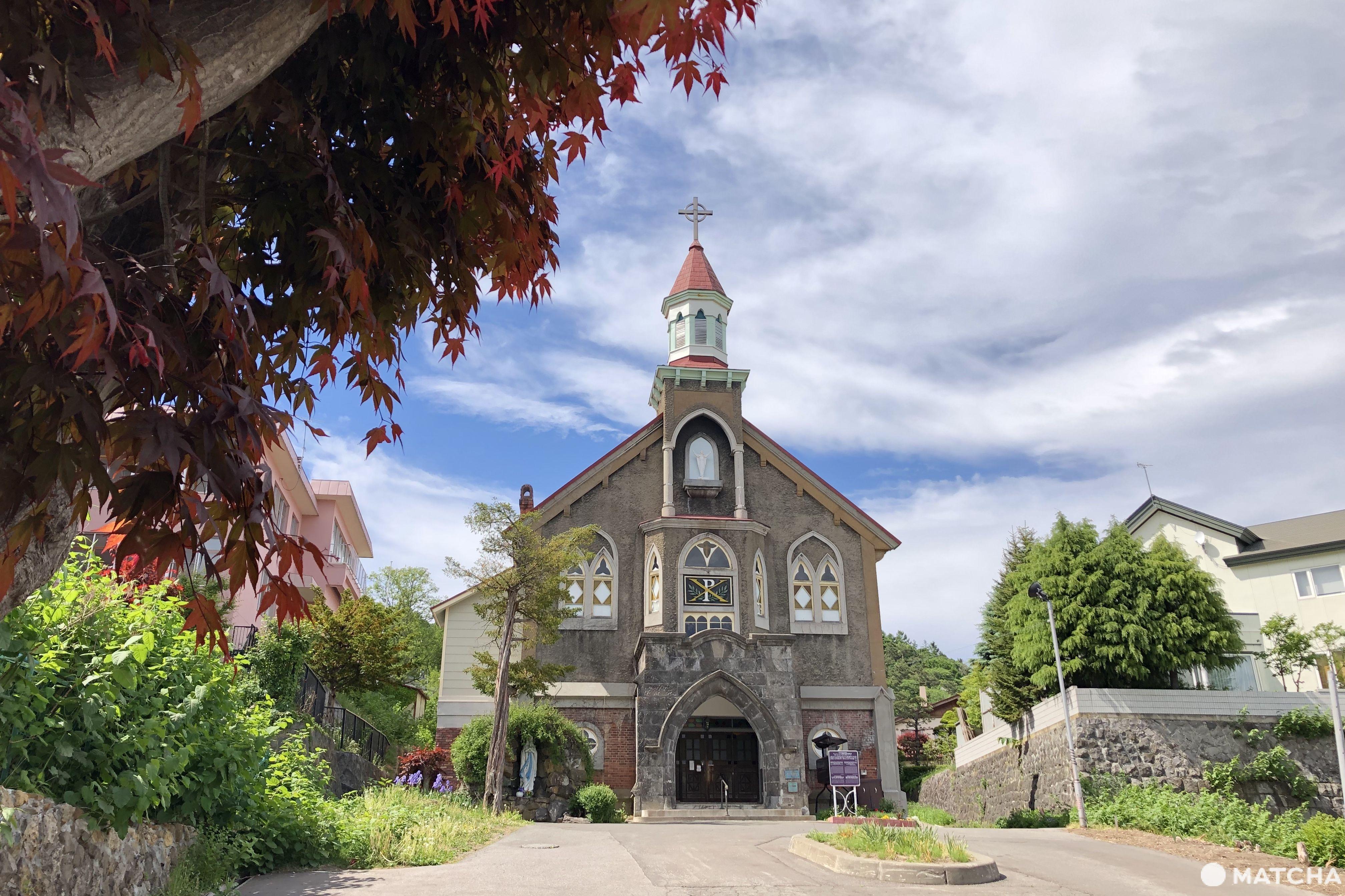 天主教小樽教會富岡聖堂