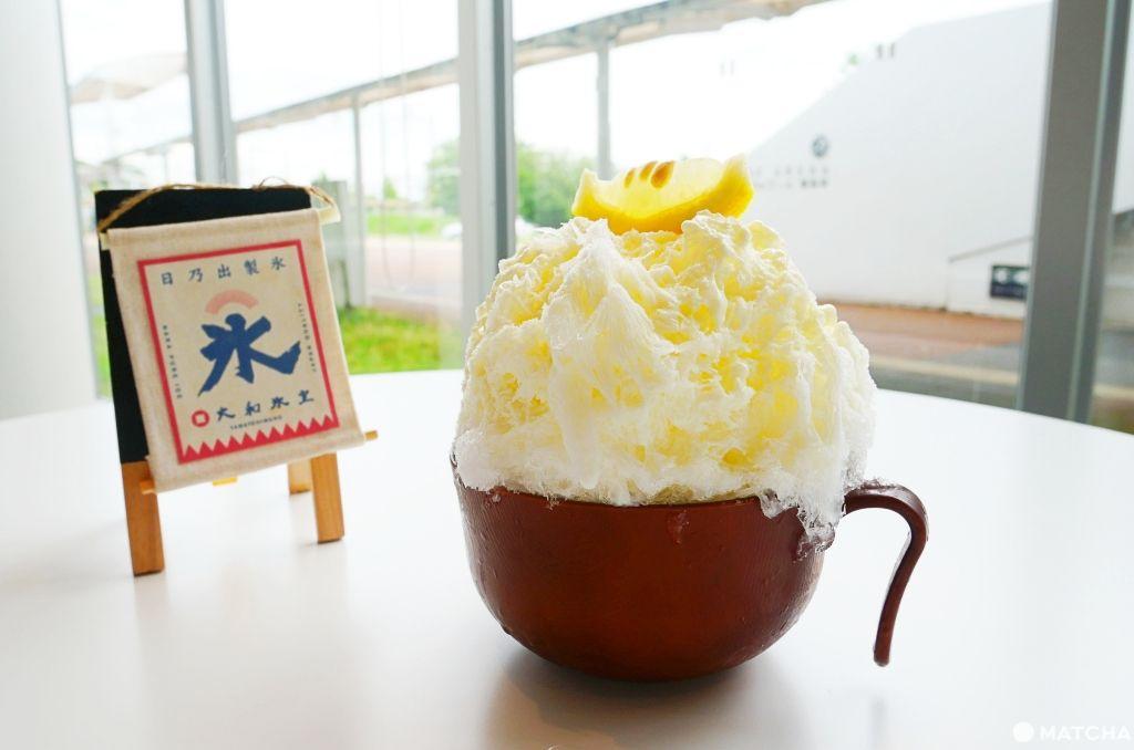 奈良の氷屋ヒノデさん冰