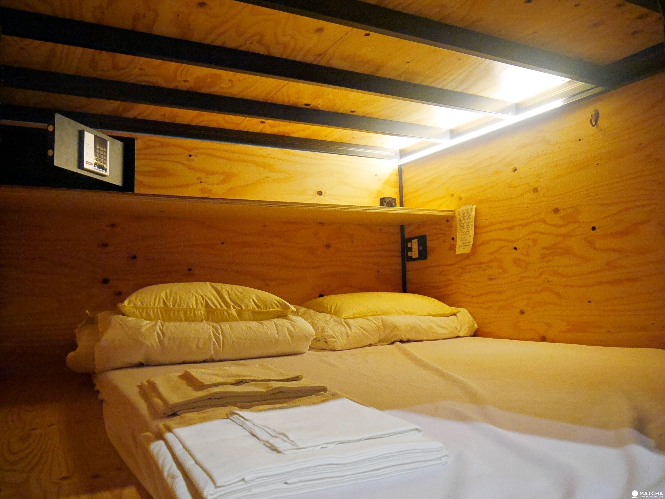BOOK AND BED ASAKUSA雙人床