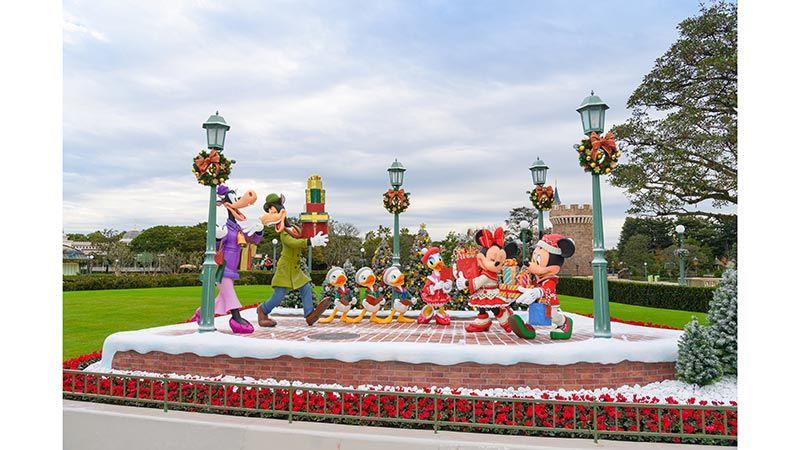 東京迪士尼樂園聖誕裝飾