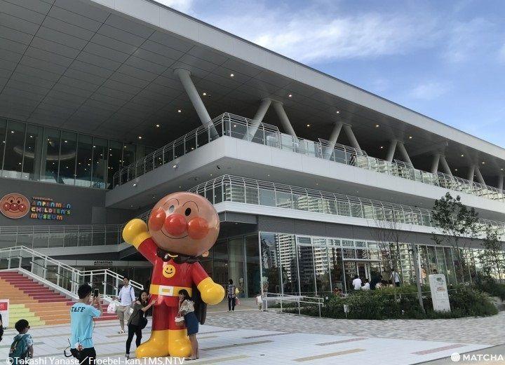 東京親子遊 麵包超人博物館