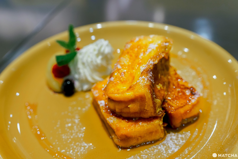 三日月屋CAFE 博多站店_可頌餅皮法式吐司