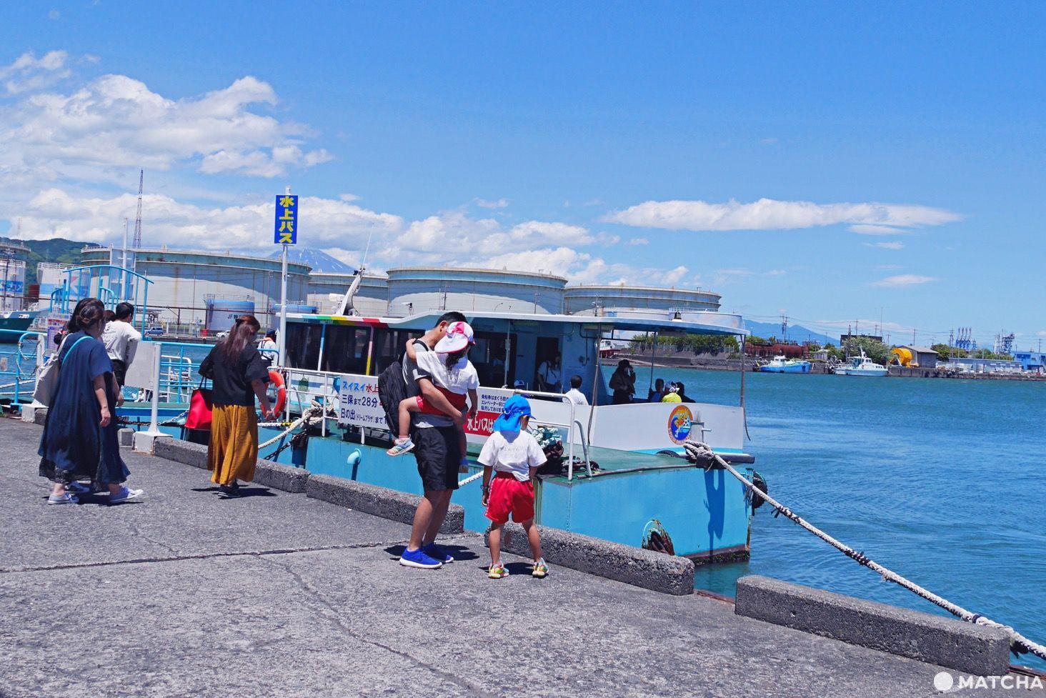 靜岡清水水上巴士