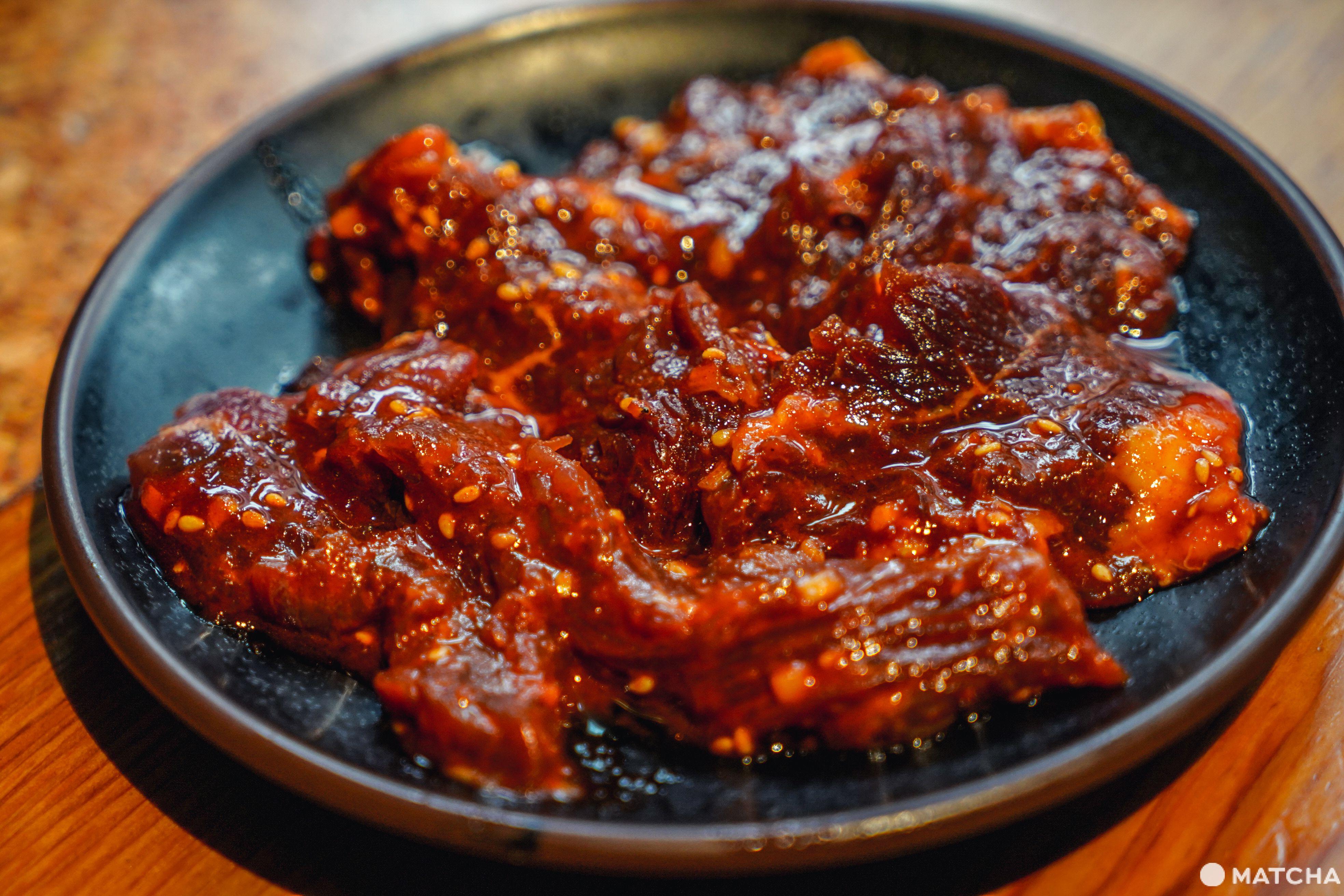 東京美食燒肉吃到飽_豪德寺ひゃくてん_吃到飽午餐方案_牛外橫隔膜肉