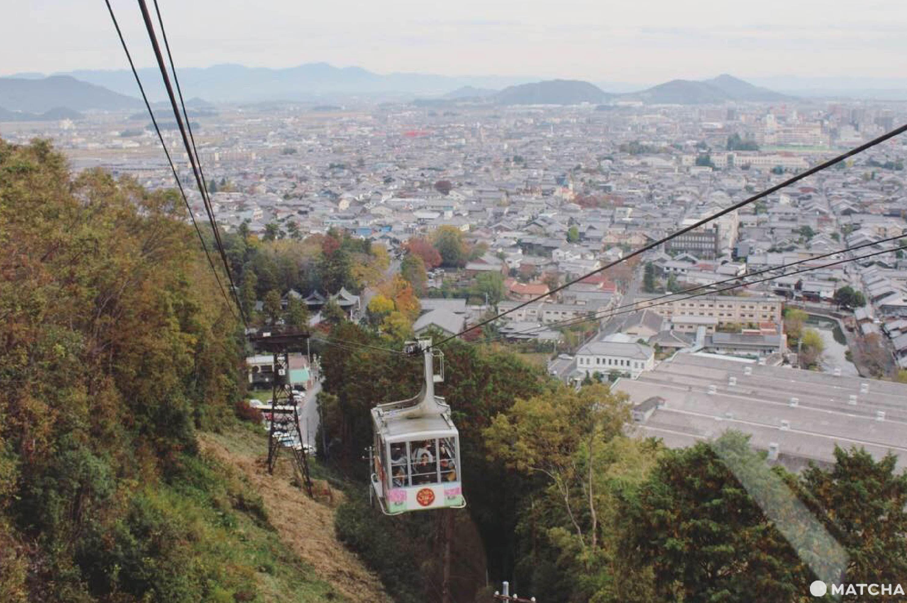 八幡山纜車