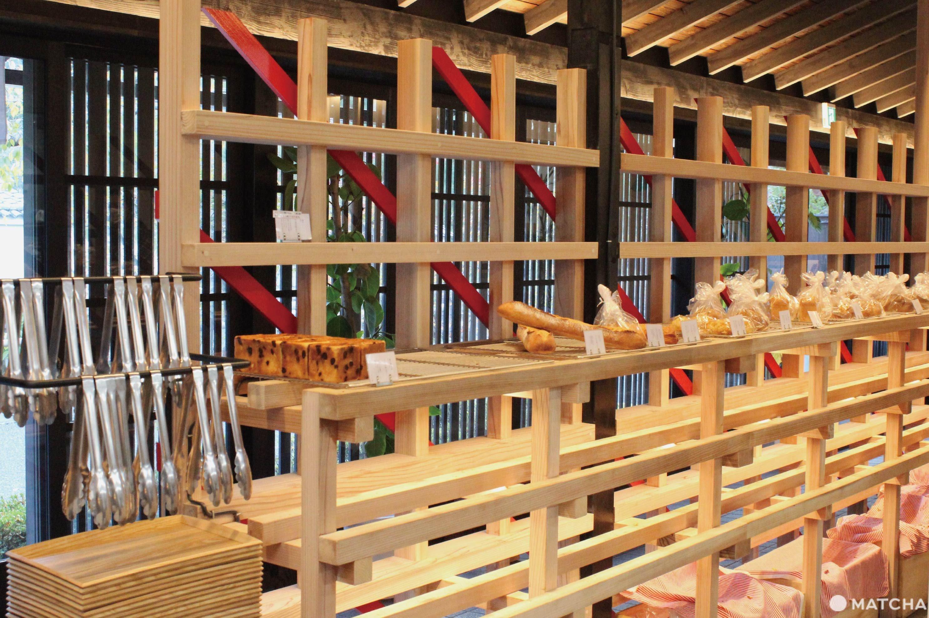 京都嵐山麵包店