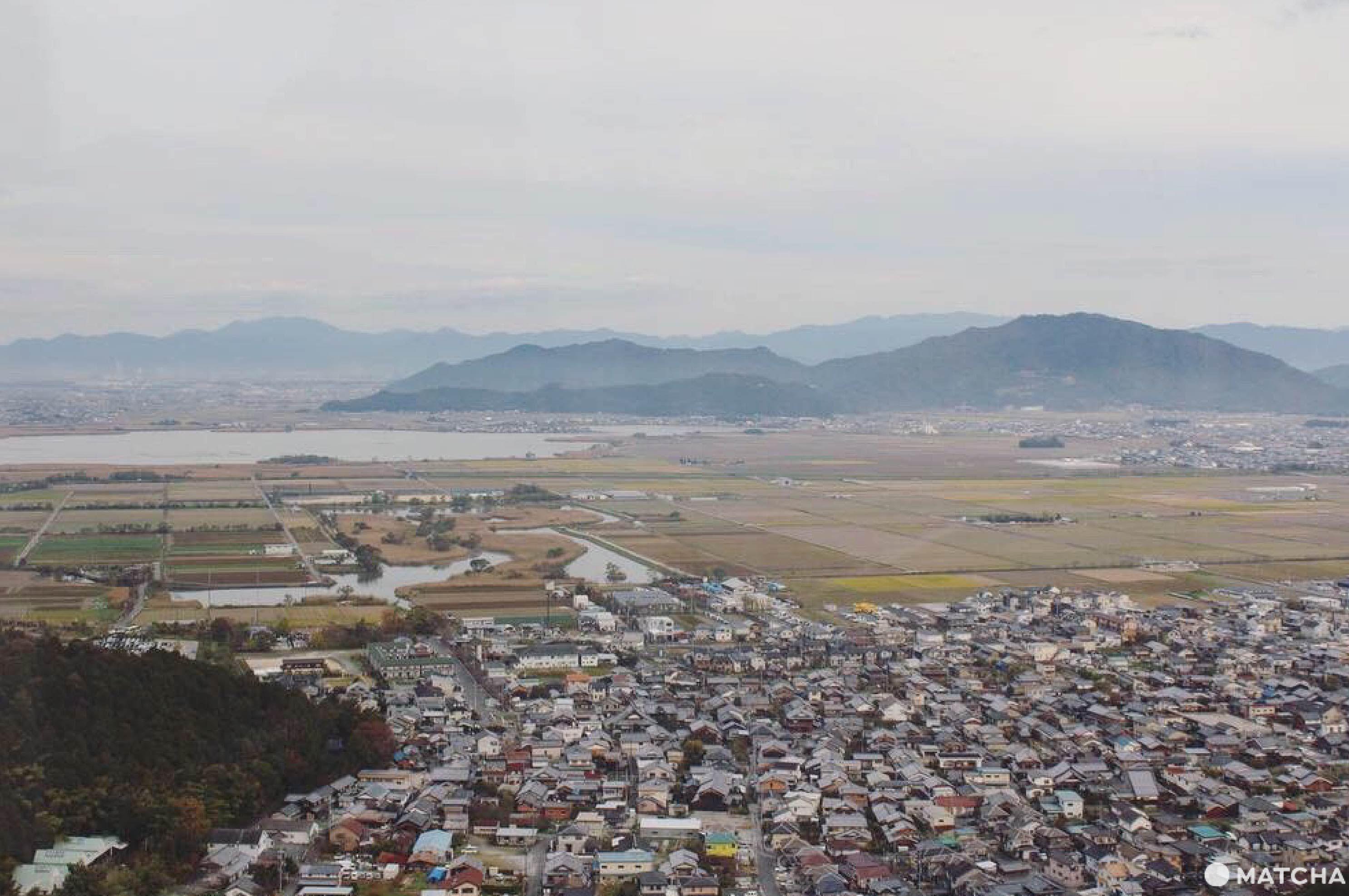 八幡山眺望台