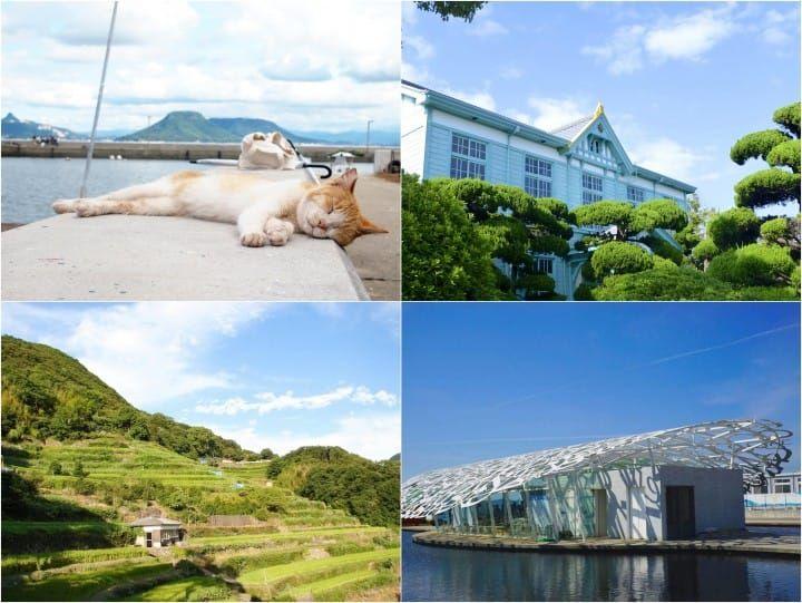 『瀨戶內海』那些只看過卻沒踏過的島上景點:男木島,小豆島,粟島篇