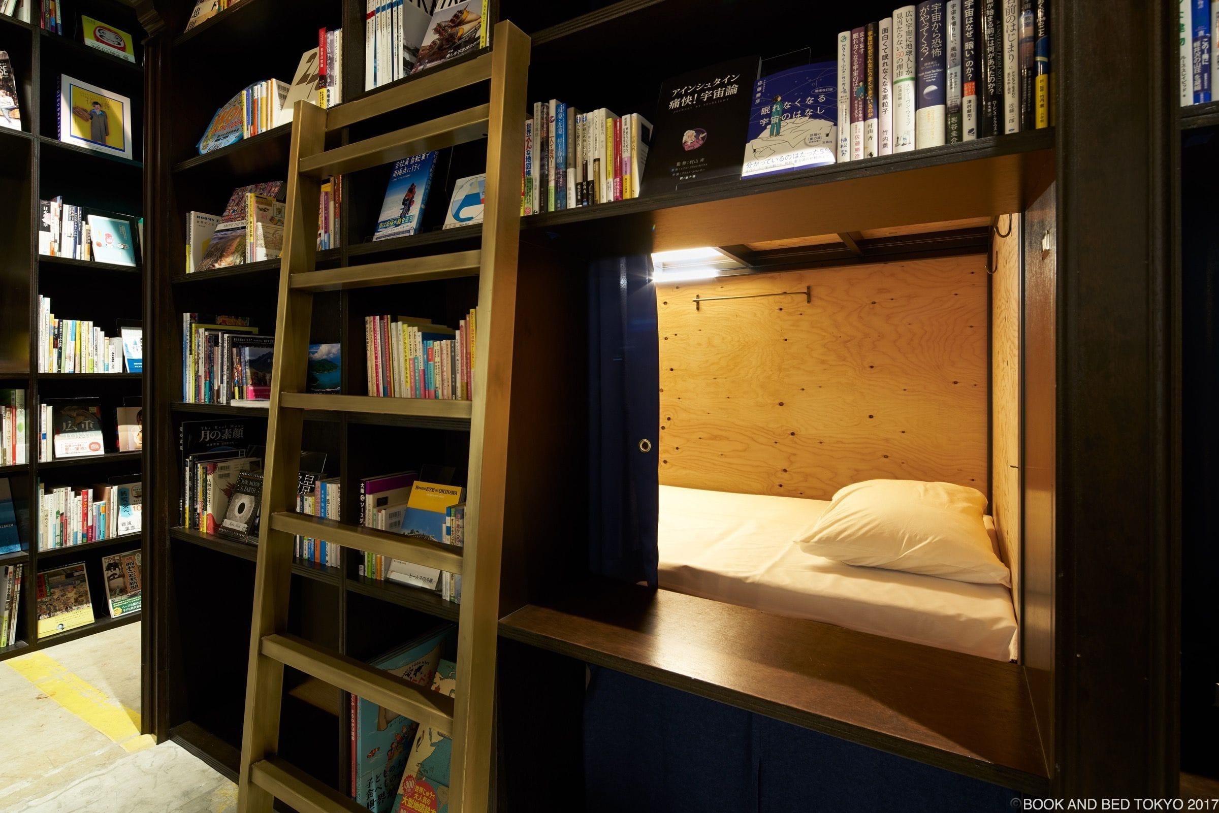 BOOK AND BED ASAKUSA房間單人加大