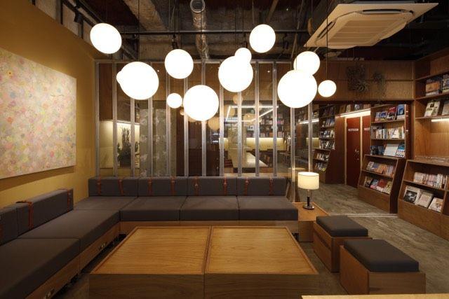札幌TSUTAYA飯店 交誼廳