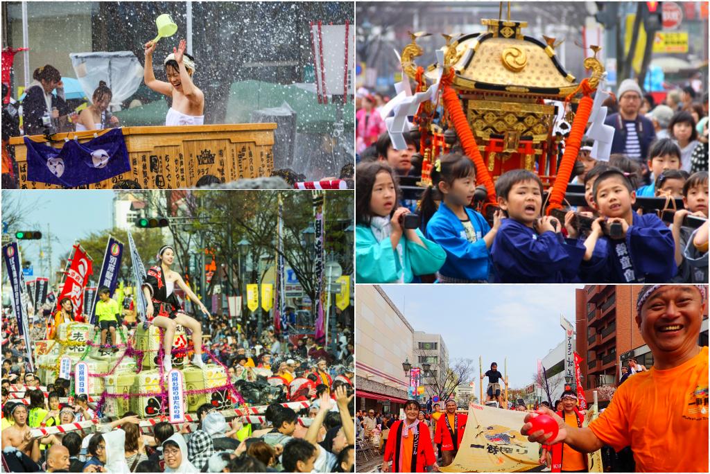 【大分別府】與當地人用溫泉狂歡,在溫泉祭典跳進八十八湯泡個夠!