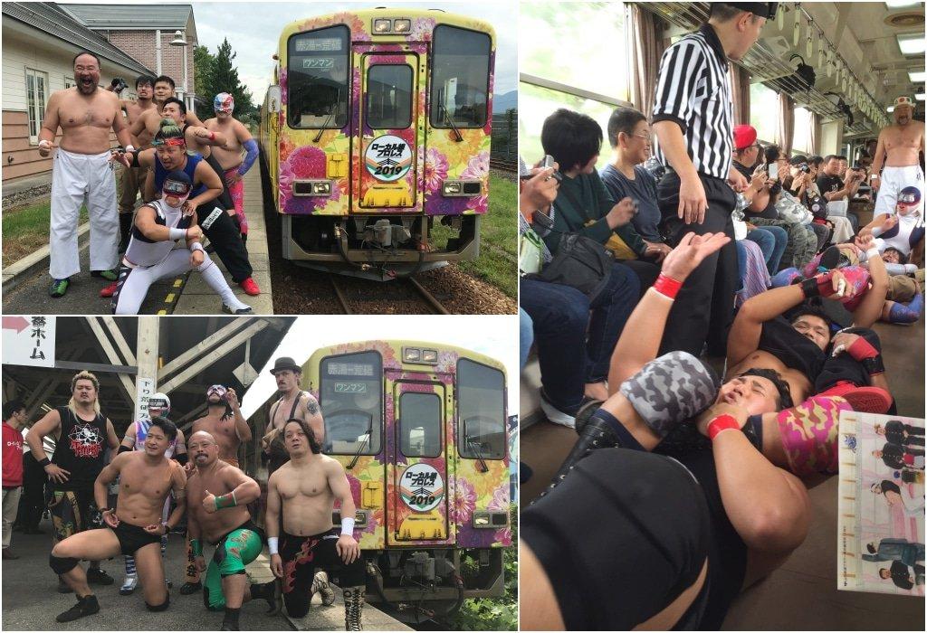 長井線摔角列車