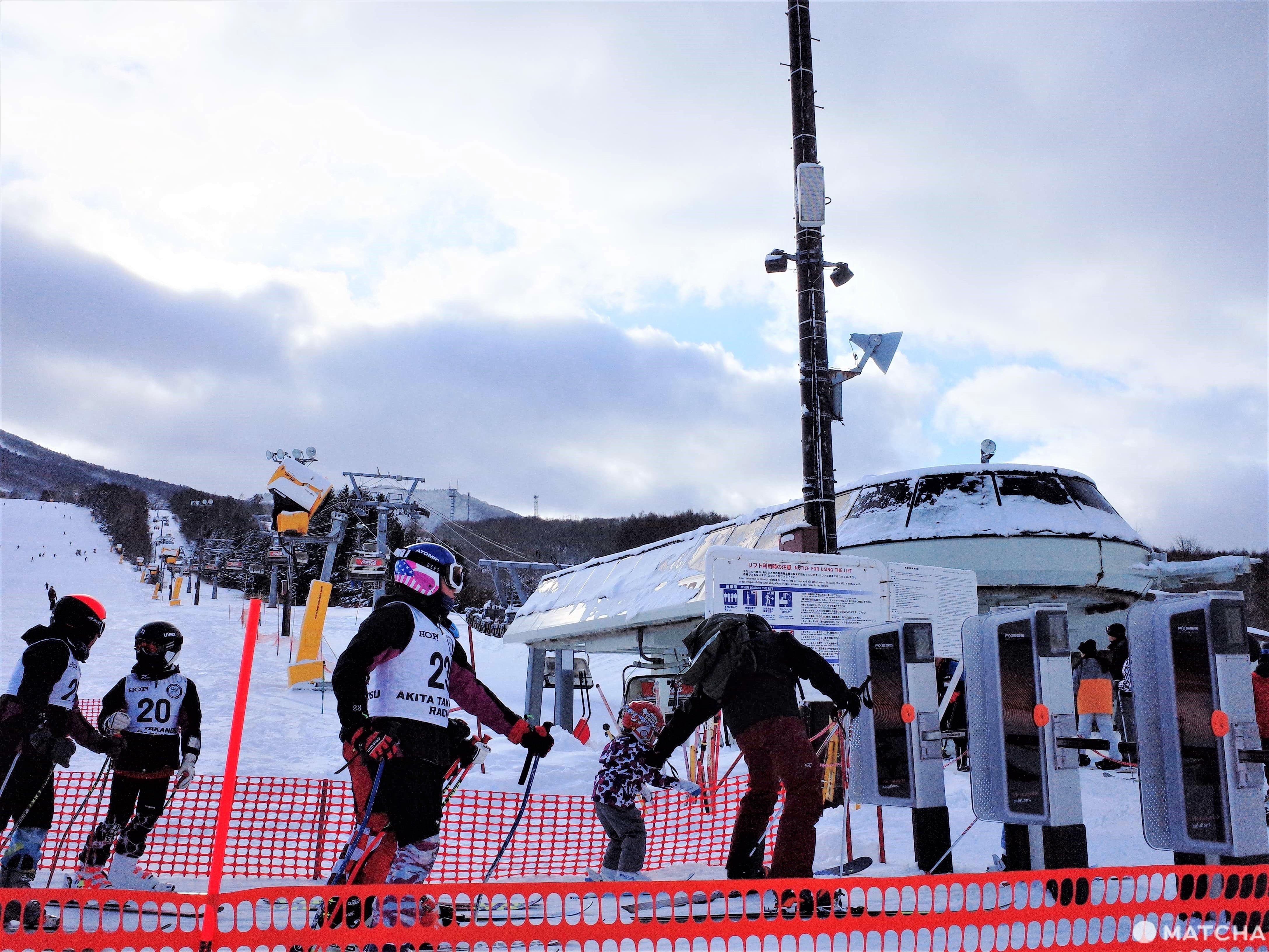 安比高原滑雪場纜車