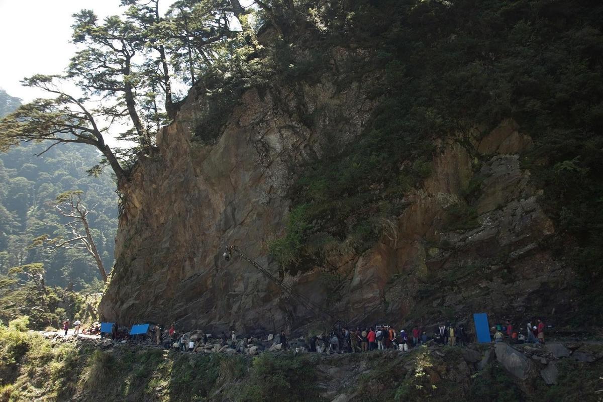 《賽德克.巴萊》深入台灣深山林內取景。(果子電影提供)