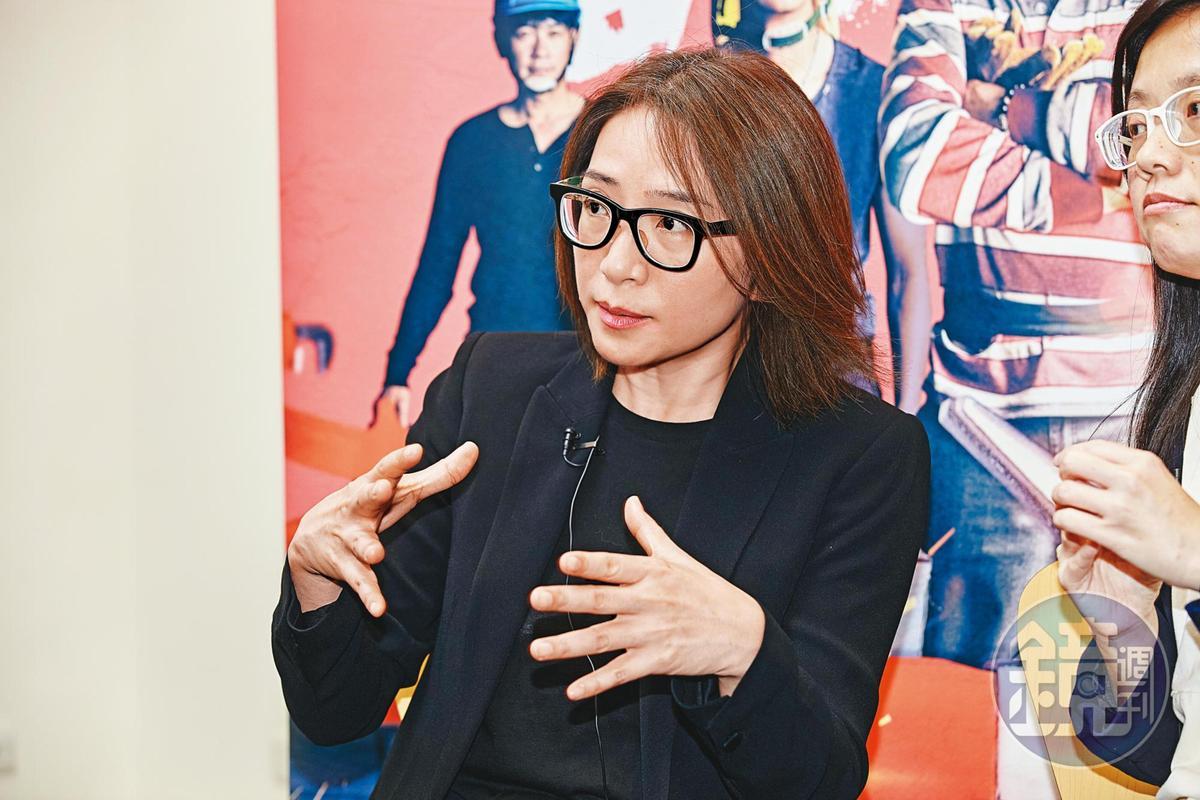 《做工的人》是林昱伶首部自行開發的IP劇,她費盡心力一度累到想哭。