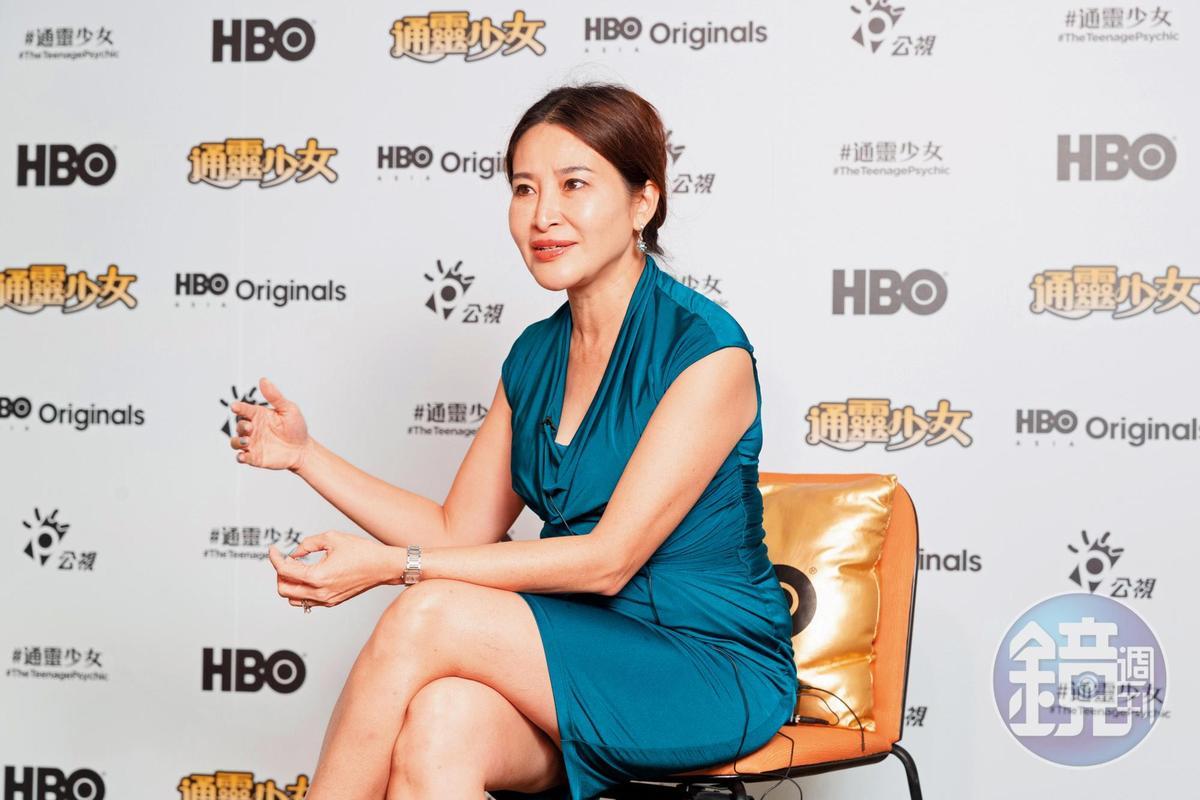 HBO Asia原創製作部資深副總裁甘蕙茵看好台灣人才及製作環境,在台灣投資多項計畫。