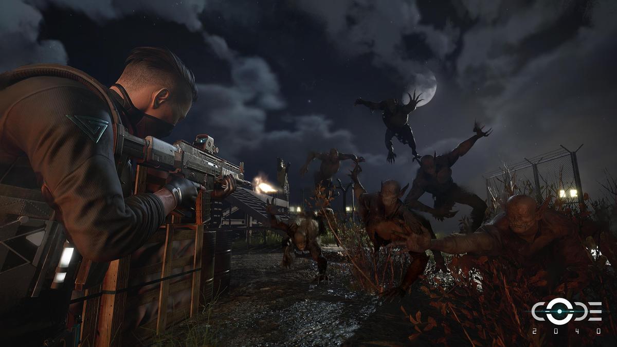 遊戲中會出現民間傳說的「魔神仔」。(網銀國際提供)
