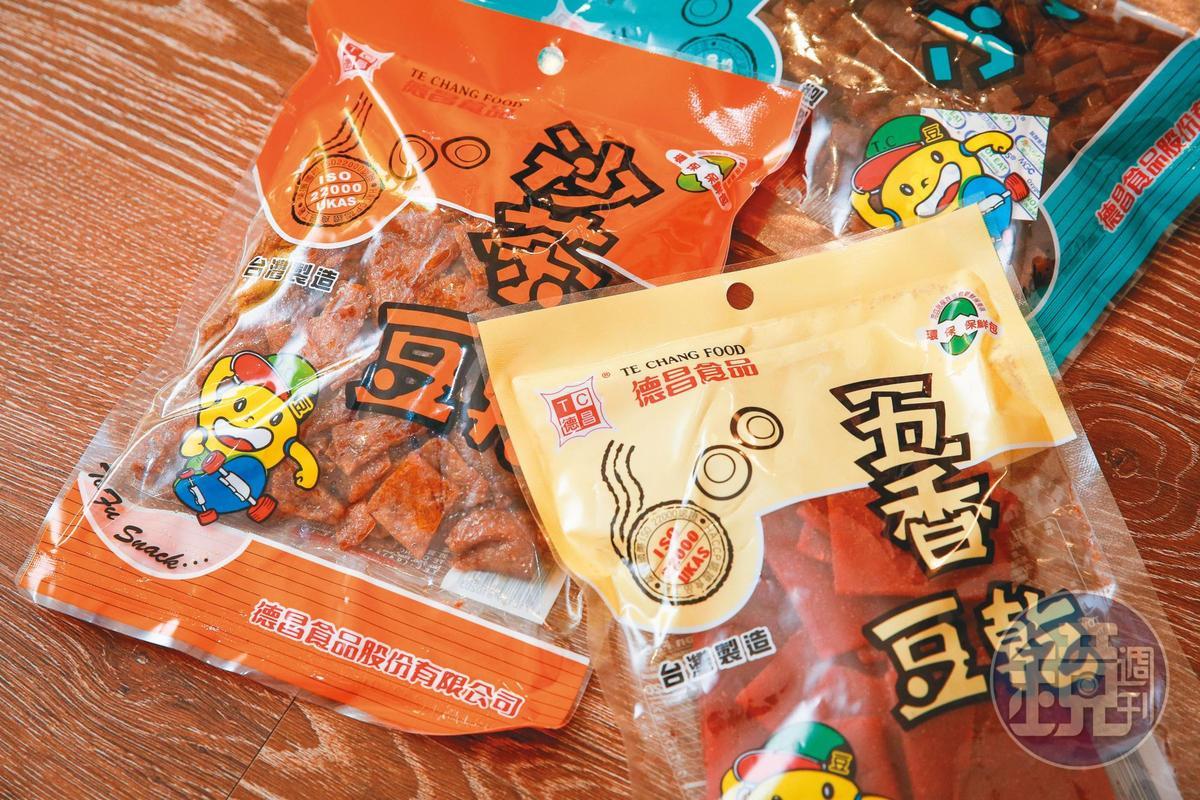 德昌食品是台灣老字號品牌,以賣肉乾、豆干聞名。