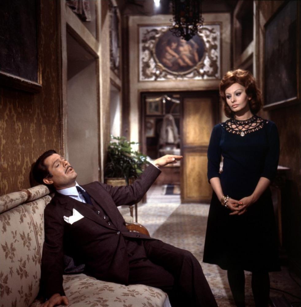 馬斯楚安尼與蘇菲亞羅蘭是義大利影壇最具代表性的銀幕CP,《義大利式結婚》展現了兩人火花四射的演技與默契。(金馬執委會提供)