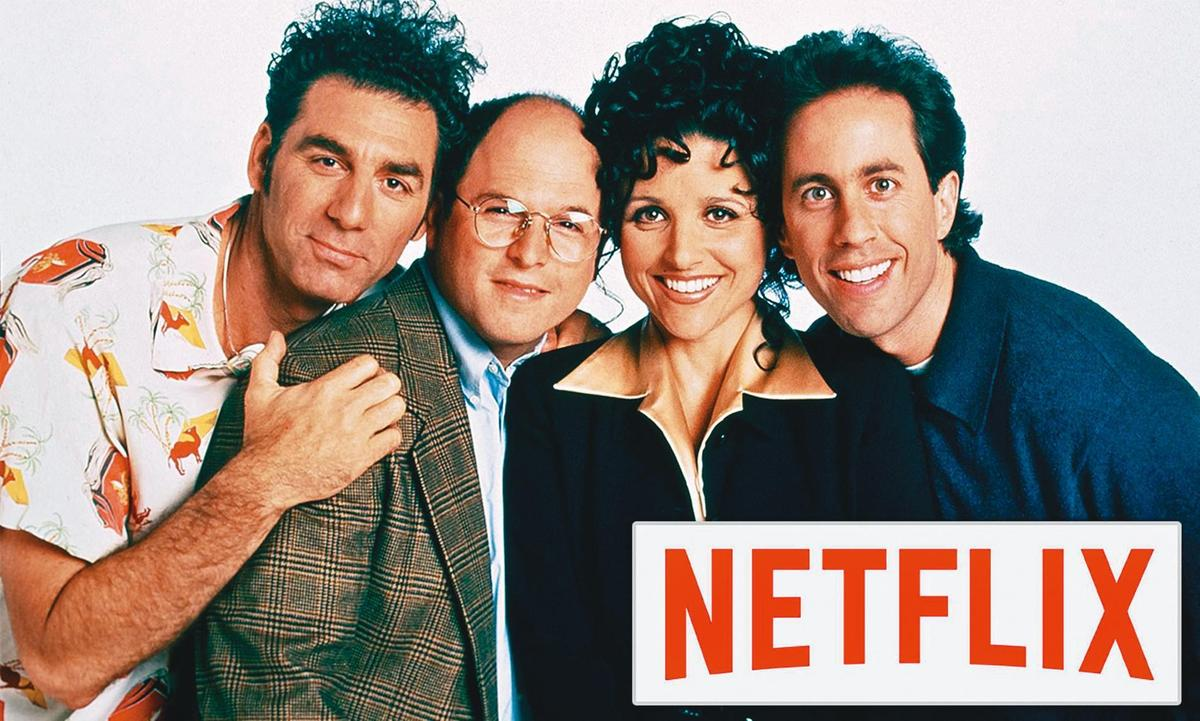 因應《六人行》和《辦公室風雲》合約將屆,去年Netlfix砸5億美元買下喜劇《歡樂單身派對》(Seinfeld)5年全球播映權。(翻攝自timestechpharma.com)