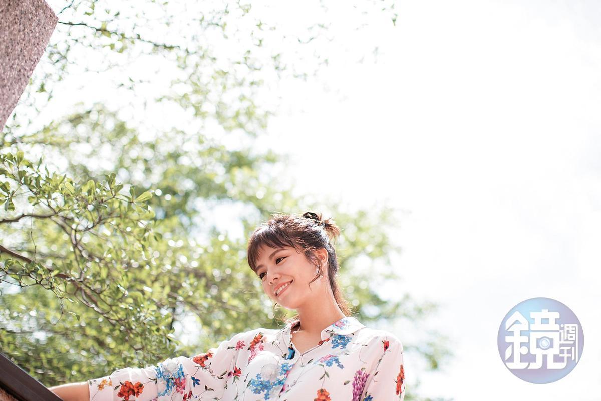 宋芸樺說,談戀愛時她會保護對方,她是公眾人物本來就要承擔許多事,「但我比較擔心對方。」