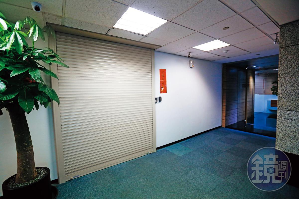本刊上週實地走訪潤寅辦公室,只見登記地址大門深鎖,公司招牌也全部拆掉。