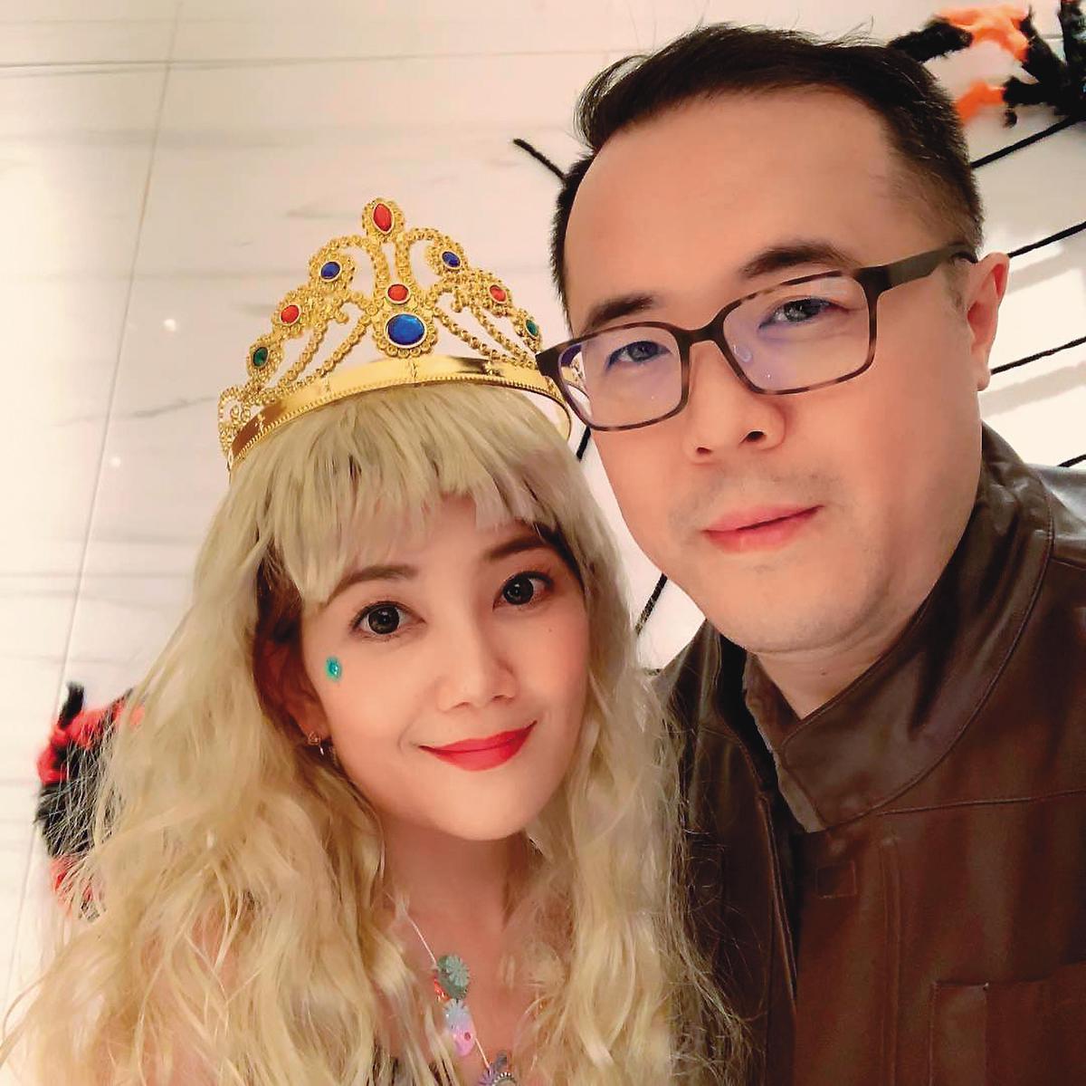 趙元同(右)與梁靜茹的9年婚,最後如夢一場,離婚收場。(翻攝自梁靜茹IG)