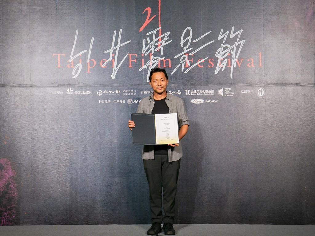 本屆台北電影節國際新導演競賽特別提獎及由泰國導演普帝邦阿朗潘的《邊境幻夢》奪得。(台北電影節提供)