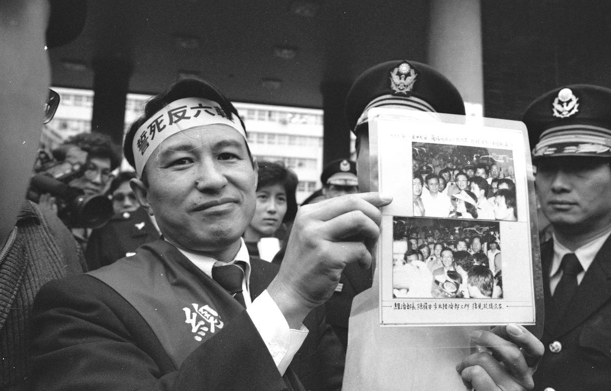 紀錄片《前進》描繪台灣在環保運動近30年的變化,過往的抗爭歷歷在目,拿到觀眾票選獎。(台北電影節提供)